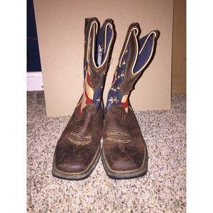 Durango Lady Rebel Flag Boots